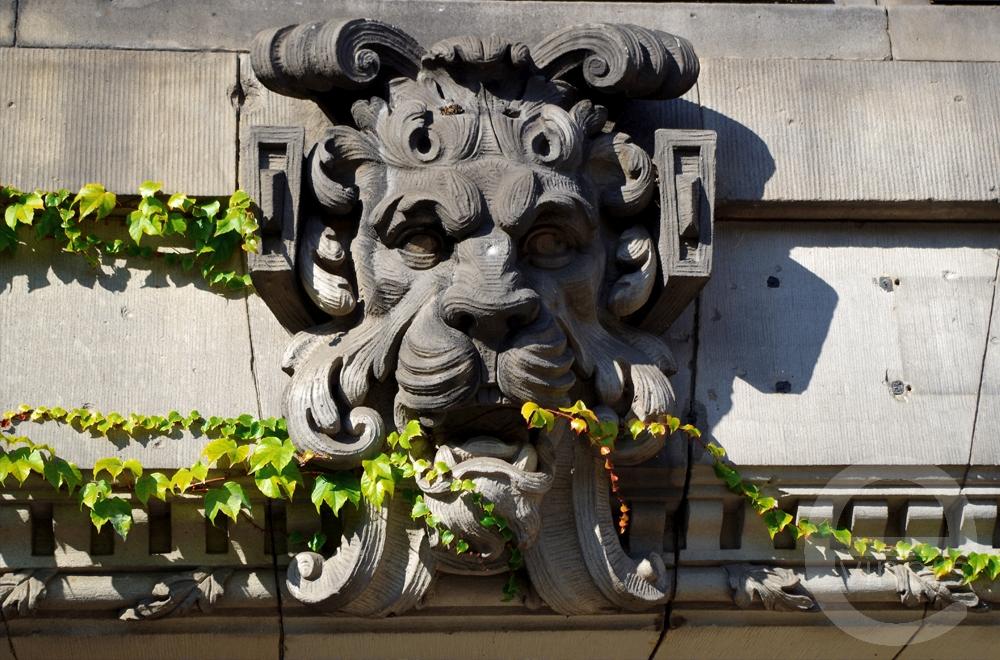 Sculpture on a Building