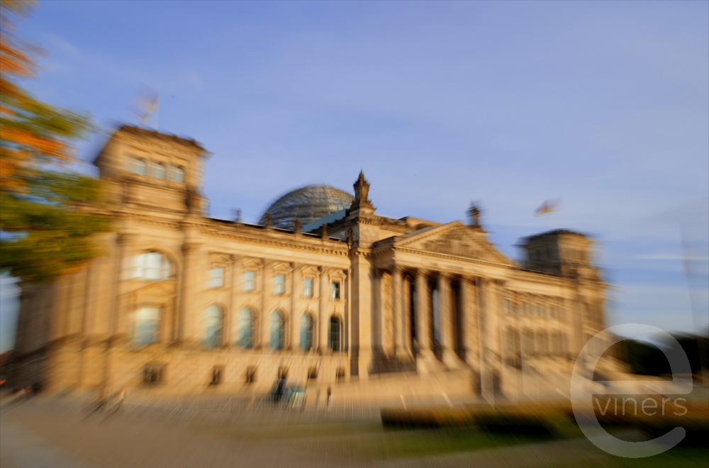 Building of the Reichstag Berlin