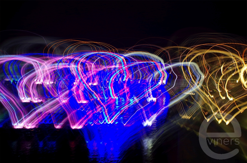 Light Painting Hearts