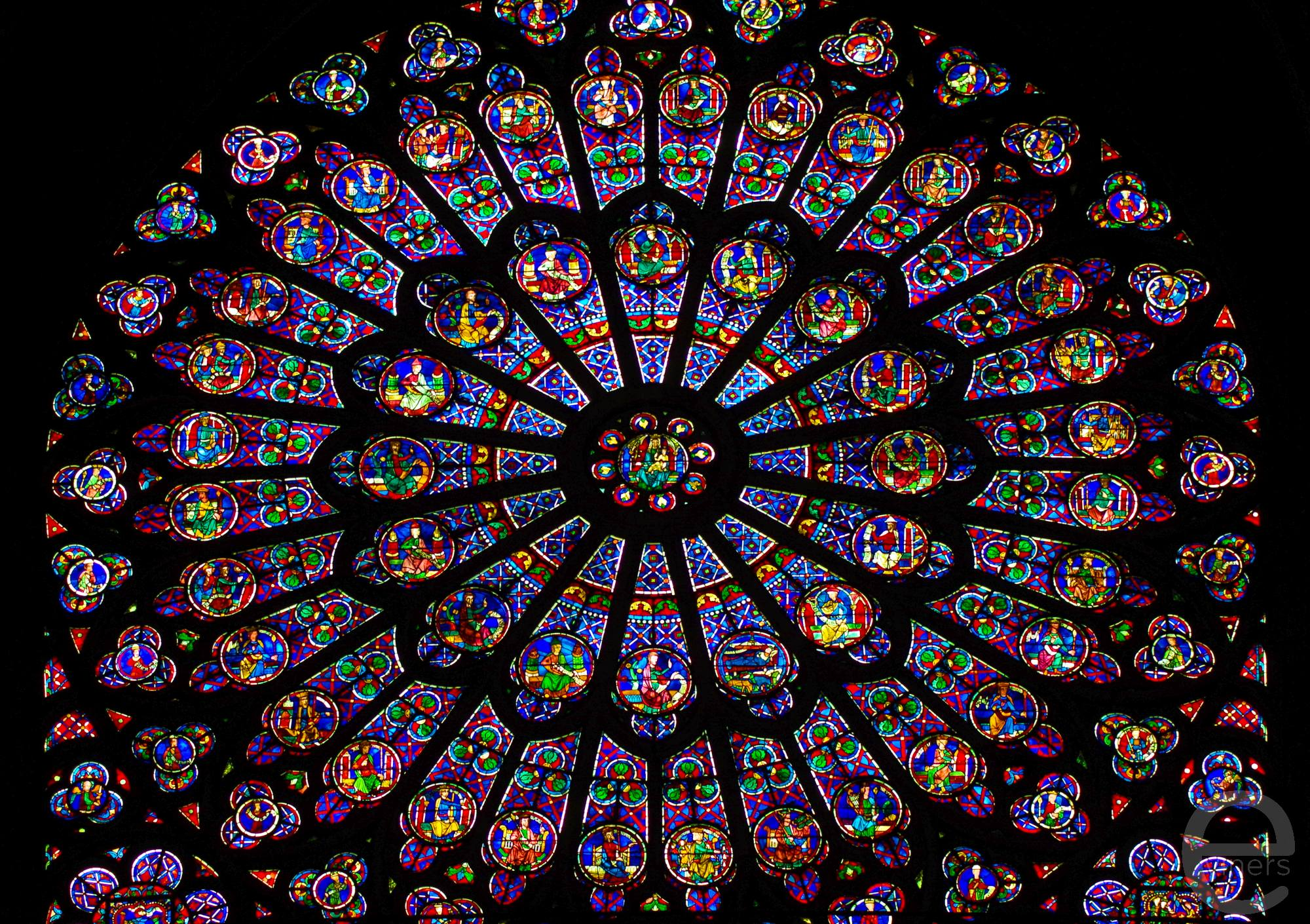 Church Window of Notre Dame